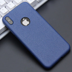 KISSCASE Ultra Thin Phone Cases For iPhone 6 6s 7 8 Plus 10 X Cover Leather Skin