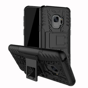 Shockproof Heavy Duty Stand Case Skin Cover For Samsung Galaxy S9 5.8inch