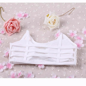 Cute Shockproof Strappy Beauty Back Crop Top Motion bustier Breast pad Without rims Camisole Bras