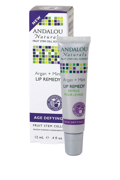 Andalou Naturals Argan + Mint Lip Remedy (1x.4 Oz)