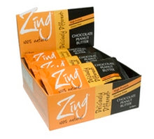 Zing Bars Chocolate Peanut Butter (12x1.7Oz)