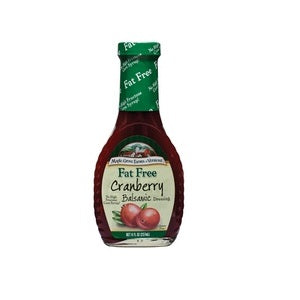 Maple Grove Fat Free Cranberry Balsamic Salad Dressing (12x8 Oz)