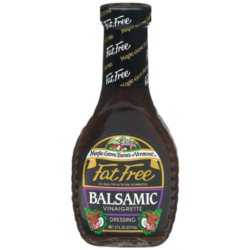 Maple Grove Fat Free Balsamic Vinaigrette Salad Dressing (12x8 Oz)