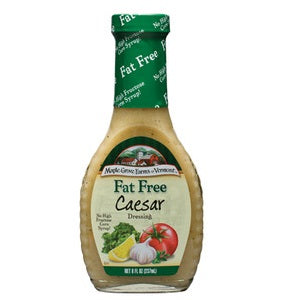 Maple Grove Fat Free Caesar Salad Dressing (12x8 Oz)