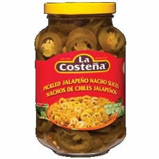La Costena Jalapeno Nacho Slices (12x26 Oz)