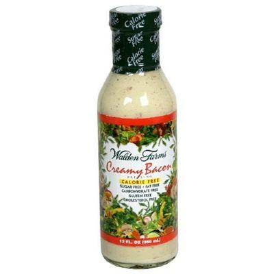 Walden Farms Calorie Free Creamy Bacon Salad Dressing (6x12 Oz)