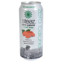 Steaz ZERO Calorie Raspberry (12x16 Oz)