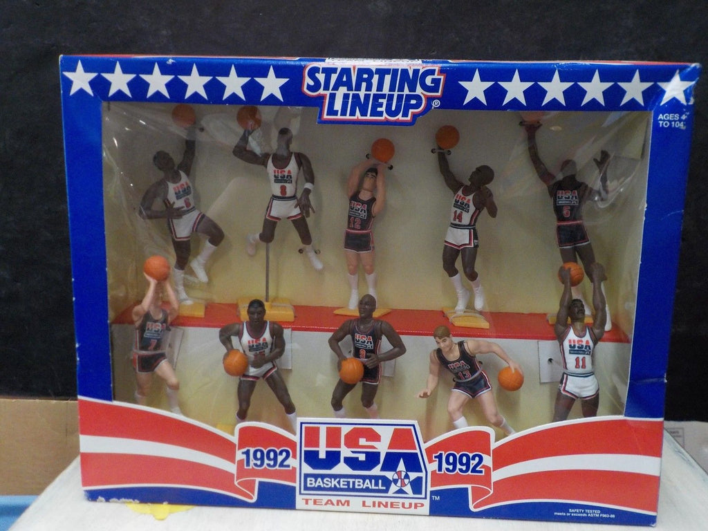 1992 Starting Lineup USA Olympic Basketball Dream Team Set