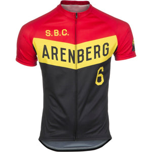 Maillot Classique Retro S.B.C Arenberg - Vintage Cycling