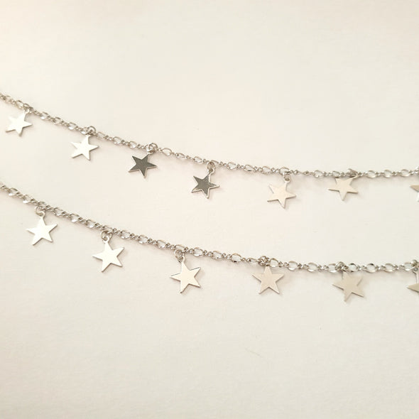 Necklace with stars