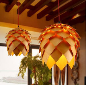 lampe design pomme de pin originale
