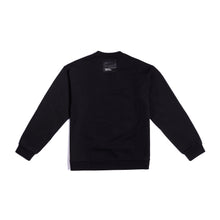 Laden Sie das Bild in den Galerie-Viewer, The Zero Black Sweatshirt