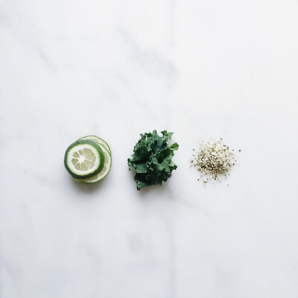 Kale, Hemp + Lime
