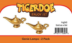 Tigerdoe Genie Lamp - 2 Pack - Magic Lamp - Genie Costume Accessories - Genie Lamp Prop