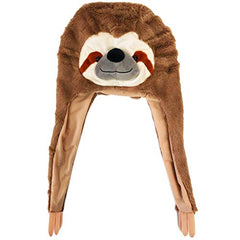Tigerdoe Sloth Gift - Animal Hats for Kids and Adults- Sloth Hat- Sloth Accessories -Funny Hats
