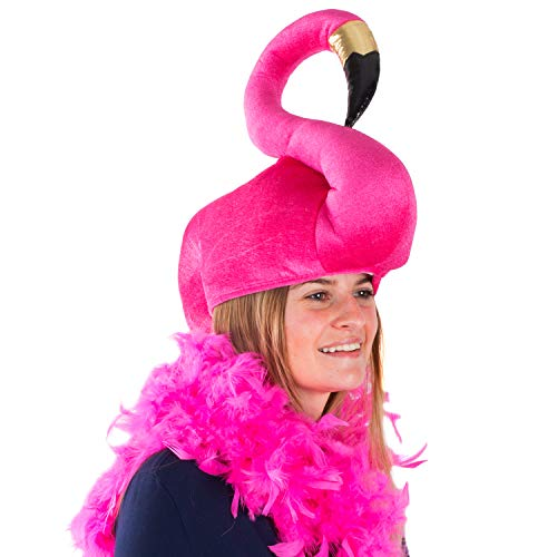 Tigerdoe Flamingo Hat - Flamingo Costume - Flamingo Accessories Pink