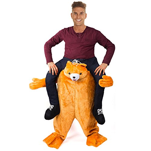 Tigerdoe Piggyback Costume - Bear Ride On Costume - Carry me Costume - Riding Shoulder Costume