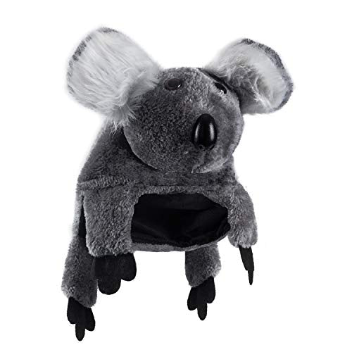 Tigerdoe Koala Costume - Animal Costume Hats - Koala Bear Hat - Zoo Animal Party