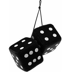 Tigerdoe 50s Party Decorations - Hanging Dice for 50's parties 12 Plush Accessories