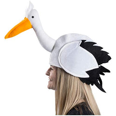 Pelican Hat-Bird Costume-Animal Themed Hats-Novelty Hats