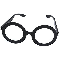 Tigerdoe Wizard Glasses - 18 Pack - Wizard Party Favor - Costume Glasses - No Lens - Plastic Frames - Nerd Glasses