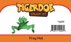 Tigerdoe Frog Costume Hat - Animal Hats - Novelty Hats - Frog Costume - Frog Costume Accessories