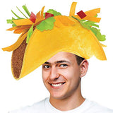 Tigerdoe Taco Costume Hat - Sombrero Headbands - Food Costumes - Costume Party Hat- Cinco De Mayo Hats - Fiesta Party