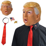 Tigerdoe Donald Trump Costume - President Costume - Politician Costume Latex Mask