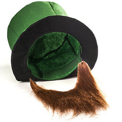 Tigerdoe Leprechaun Costume - Leprechaun Hat - St. Patricks Day Accessories - Lucky Charm Costume (3 Pc Set)