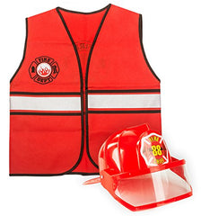 Tigerdoe Construction Costume - Fireman Costume - Dress up Accessories
