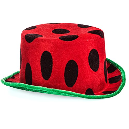 Watermelon Hat - Food Themed Hats - Watermelon Party - Costume Hat - Watermelon Party Hats - Watermelon Costume by Tigerdoe