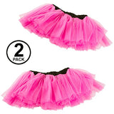 Tigerdoe 80s Costumes for Women - 2 Pack - 80s Accessories - 80s Clothes for Women - Tutus for Women