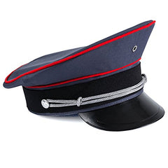 Tigerdoe Captain Hat - Officer Hat, Peaked Hat, Military Cap - Dress Up Hats