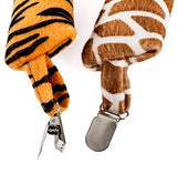 Tigerdoe Animal Tails Costume - Jungle Party Supplies - Safari Party Supplies - (5 Pc) Animal Costumes