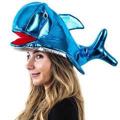 Tigerdoe Fish Hat - Whale Hat - Dolphin Hat - Sea Animal Hat - Ocean Party - Under The Sea Party by