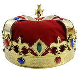 Tigerdoe Kings Crown - Royal King Crowns and Princess Tiara - Queen Costume Accessories