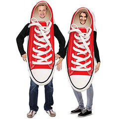 Sneakers Couple Costume - 2 pc Set - Funny Adult Costumes - Novelty Costumes