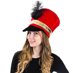 Tigerdoe Toy Soldier Hat - Drum Major Hat - Soldier Hat - Marching Band Hat - Nutcracker Hat - Toy Soldier Costume
