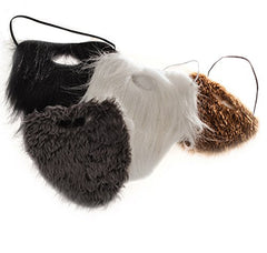 Tigerdoe Fake Beards for Adults Kids - Costume Accessories - Beard & Mustache - Fake Mustaches