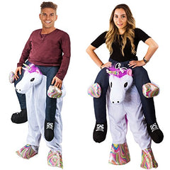 Tigerdoe Piggyback Costume - Unicorn Costume Adult - Unicorn Ride On Costume - Carry me Costume - Riding Shoulder Costume - Unicorn Party Supplies