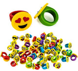 Emoji Party Favors - 96 Pc Set - Emoji Prizes for Kids - Emoji Party Supplies by Tigerdoe