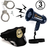 Tigerdoe Police Accessories for Kids - Cop Toys - Policeman Dress Up - Fireman Toys