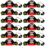 Pirate Party Supplies for kids - Pirate Hats, Eye Patches , Party Favors - Pirate Party Decorations by Tigerdoe
