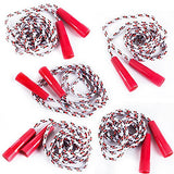 Jump Ropes - 5 Pack - Jump Rope Kids - Nylon Jump Rope - Outdoor Activities for Kids Tigerdoe