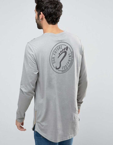Longline Long Sleeve T-Shirt