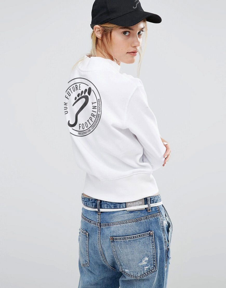 OFF Logo on White Sweater