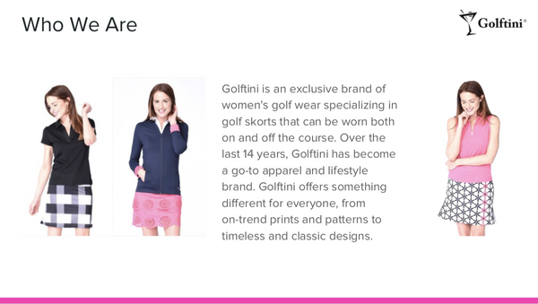 Golftini Press Kit page 2