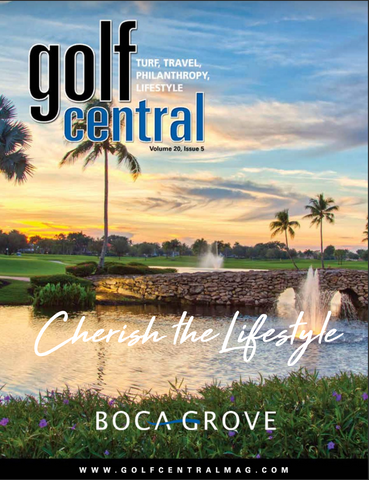 Fashionable womens golf apparel Golftini featured in the press of Golf Central Magazine