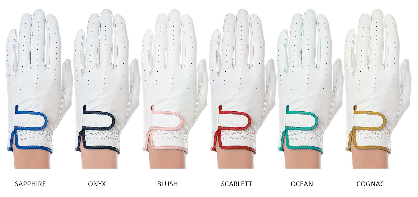 Nailed Golf Gloves Elegance Collection - Sapphire