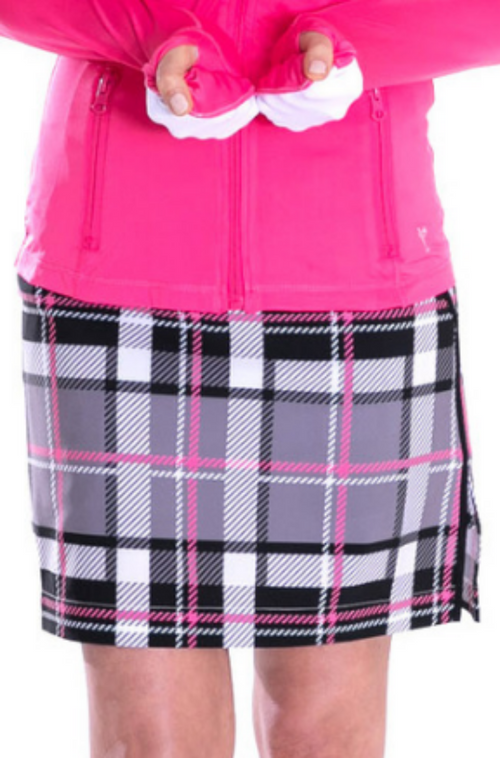 Plaid Performance Stretch Skort | Risk Taker